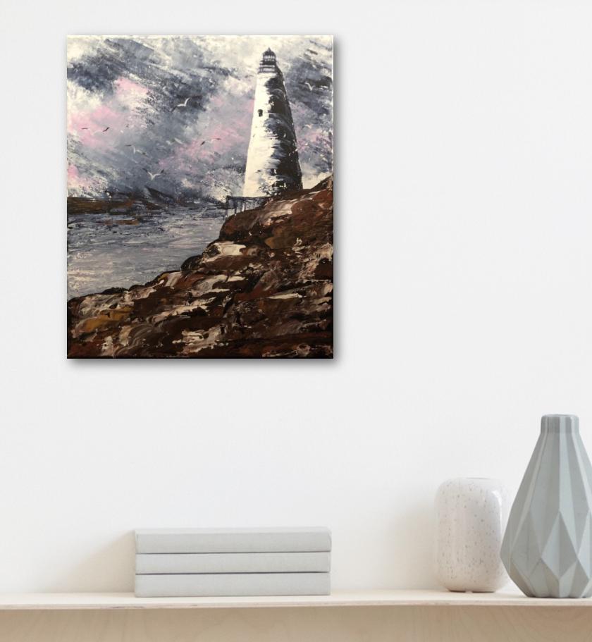 Lighthouse exposé au salon