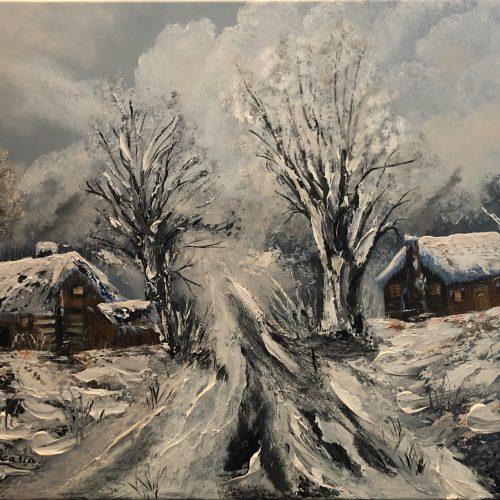 L'hiver en Sibérie