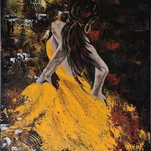 La danseuse du tango, réalisation kate_Art de Katarzyna Boduch
