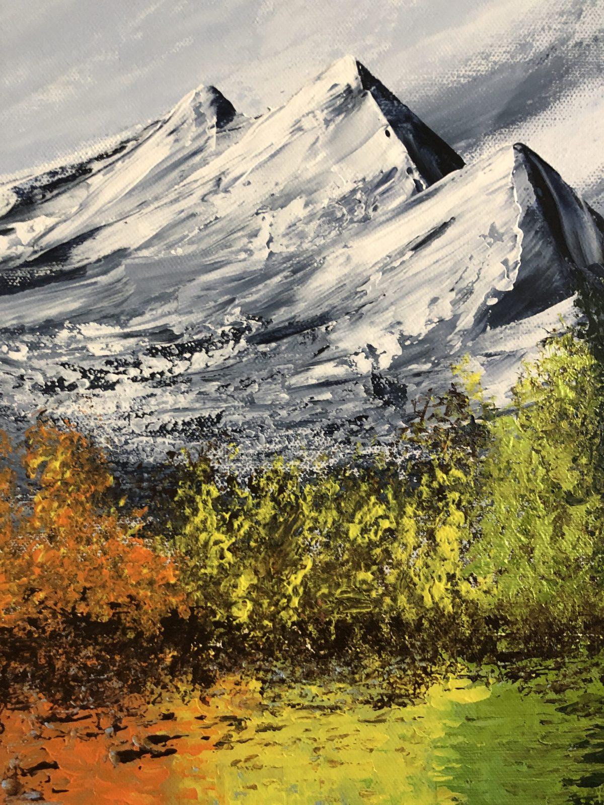 The Colorful lake , lac coloré signé Kate_Art