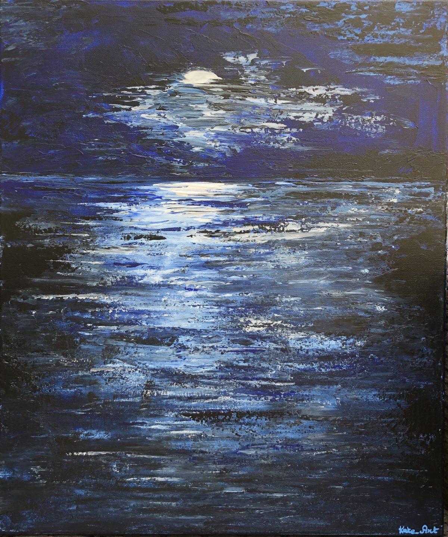La nuit sur l'Océan signé Kate_Art