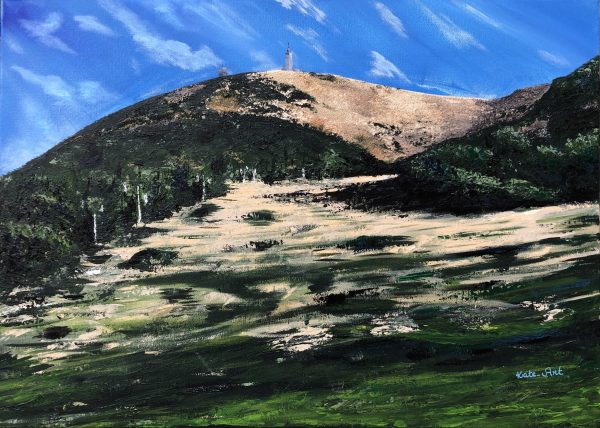 Mont Ventoux à l'automne ouvre de Kate Art, Artiste Katarzyna Boduch