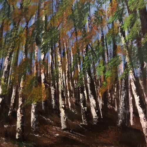 """""""Forêt Domaniale de Sault à l'automne"""" Kate_Art, Artiste Katarzyna Boduch"""