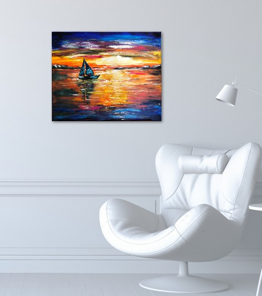 Sunset sail - bureau