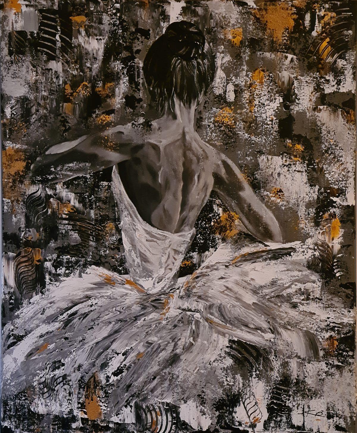 Ballerine de Kate Art, d'artiste Katarzyna Boduch
