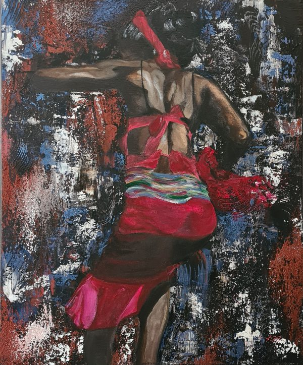 Danseuse africaine, Kate Art de l'auteur Katarzyna Boduch
