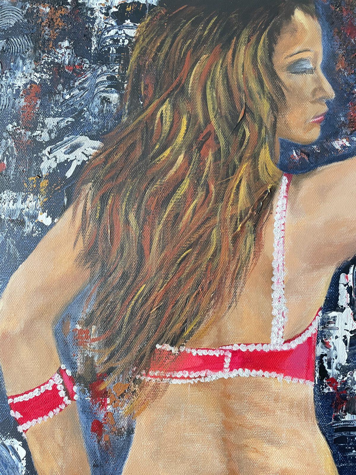 Danseuse du Harem, de l'artiste Katarzyna Boduch