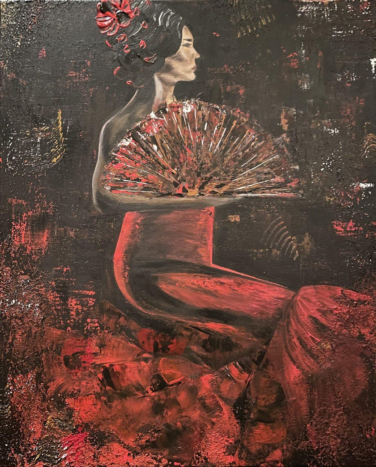 Danseuse du Flamenco, signé Kate_Art, de l'auteur Katarzyna Boduch