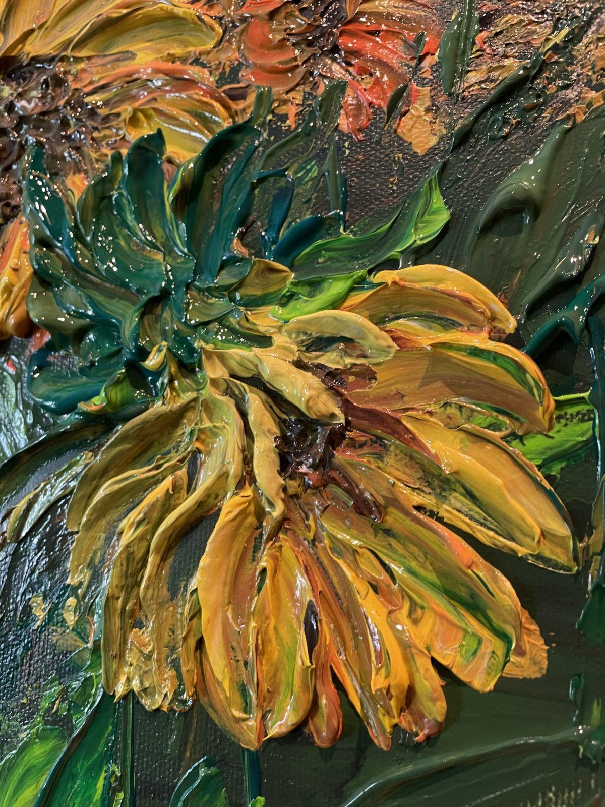 Sunflower Kate Art de l'artiste Katarzyna Boduch