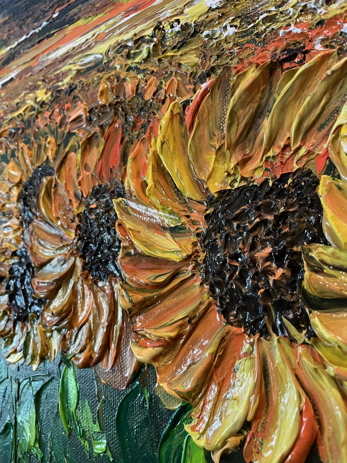 Sunflower Kate Art