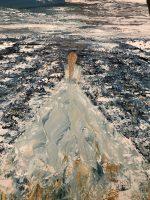 The bride of the sea tableau réalisé par Katarzyna Boduch, peintre polonaise