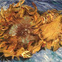 Mort du Tournesol d'après Van Gogh
